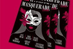 Masquerade Gala Flyer Product Image 1