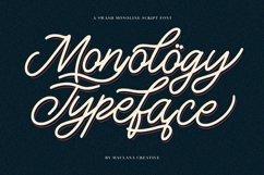 Monology Swash Script Vintage Font Product Image 1