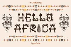 African Font Product Image 1