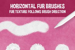 30 FAUX FUR BRUSHES FOR PROCREATE 5 Product Image 2