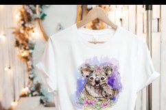 Floral Koala Baby and Mother Australian Animals Sublimation Product Image 3