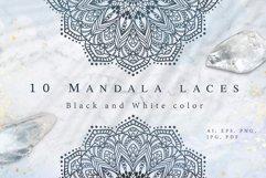10 Mandala Laces. Bonus Product Image 1