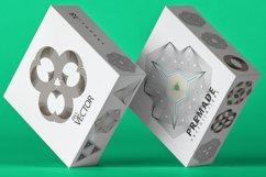 Illusion linear geometric shapes. Ai/SVG/PNG Product Image 2
