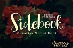 Sidebook Script Font Product Image 1