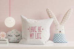 Dears Love - Cute Display Font Product Image 5