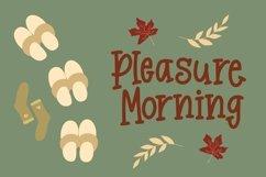 Web Font Merrypousa - Monoline Fancy Font Product Image 4