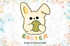 Easter egg, easter sticker, easter clipart Product Image 1