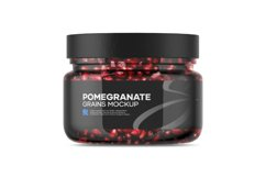 Pomegranate Grains Mockup Product Image 2
