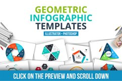Geometric infographic templates Product Image 2