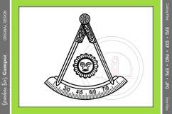 Masonic Past Master SVG Bundle, Five Framing Options Product Image 1