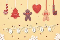 YULE - Christmas Lights Font  Product Image 2