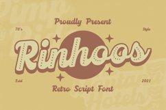 Rinhoos Font Product Image 1