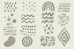 Boho abstract Procreate stamp brushes and palettes Product Image 5