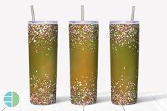 Skinny Tumbler Sublimation Design - Confetti - Customizable Product Image 6