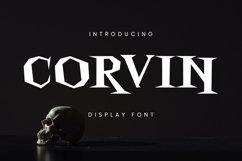 Web Font Corvin Font Product Image 1