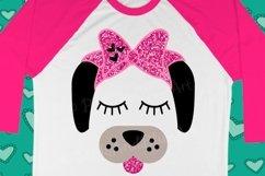 Dog Bow Birthday Cute Popular Girl svg shirt design Product Image 2