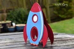 Rocket egg holder design, Easter SVG / DXF / EPS files Product Image 3