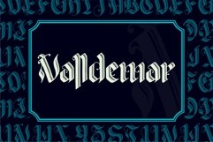 VALLDEMAR Blackletter Product Image 1