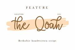 Rethobie Handwritten Script Font Product Image 5