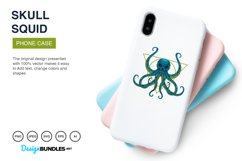 Squid Skull Illustrations Product Image 3
