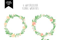 173 summer watercolor flowers Product Image 4