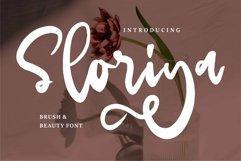 Web Font Sloriya - Brush & Beauty Font Product Image 1