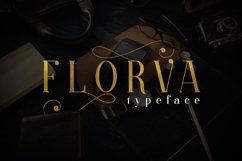 Web Font Florva Product Image 1