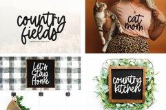 Farmhouse Font Bundle - Handwritten Fonts | Part 2 Product Image 4