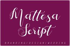 Mattosa Script Product Image 1