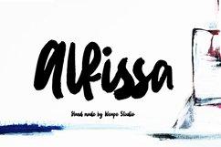 Alfissa - Brush Font Product Image 1