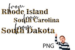 Sublimation, Png, the States of the USA 5 Product Image 2