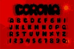 COVID-19 Display Font Product Image 2