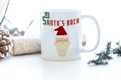 Merry Xmas CLIPART and FONT Product Image 5
