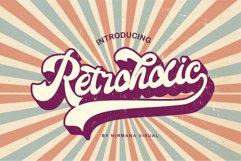 Retroholic - Retro Font Product Image 1