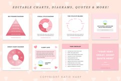 Instagram Canva Templates for Engagement - Blush Pink Product Image 2