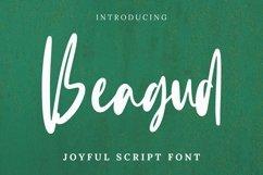 Web Font Beagud Font Product Image 1
