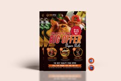 Restaurant Flyer Template Product Image 1