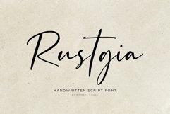 Rustgia - Handwritten Script Product Image 1