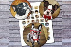 Vintage Dogs, Dogs Images, Digital Collage Sheet, Printables Product Image 1