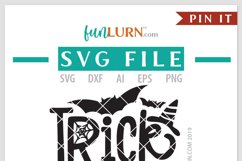 Trick or Treat SVG Cut File Product Image 4