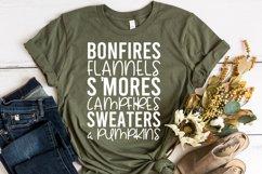 Fall Quote - Flannel Bonfires S'Mores Campfires Pumpkins Product Image 4