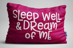 Allspice: fabric pillow print idea mock-up