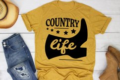 Country Life SVG Southern, Farm Girl SVG files for Cricut Product Image 1