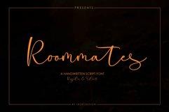 Roommates Script | Reguler & Slant Product Image 2