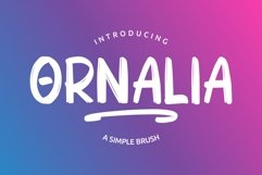 ORNALIA Font Duo Product Image 1