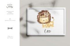LION clipart. Safari animal png. Product Image 3