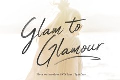 Flora SVG Font Product Image 5