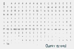 Quirky Hand-lettered Font Product Image 6