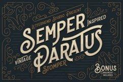 Stomper - A Vintage Display Font Product Image 1