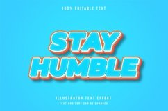 Stay humble - Text Effect Product Image 1